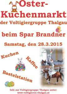 Plakat Ostermarkt 2015